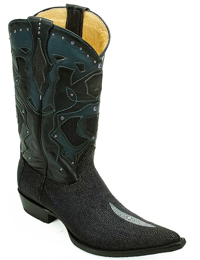 Los Altos Exotic Stingray Boots
