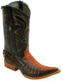 Los Altos Caiman Alligator Western Boots