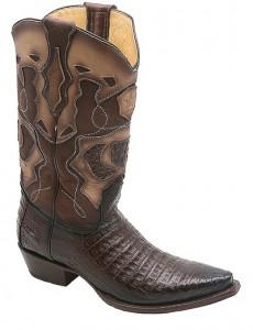 Caiman Cowboy Boots