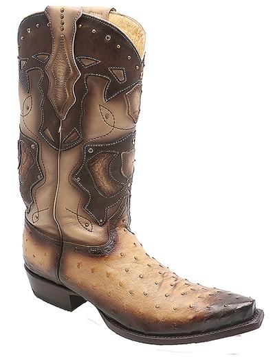 Cowboy Boots Ostrich