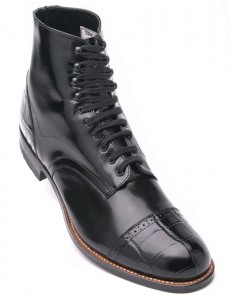 Black Madison Boots For Men
