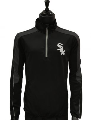 Official Major League Baseball Chicago White Sox Half Zip Up Lightweight Jacket