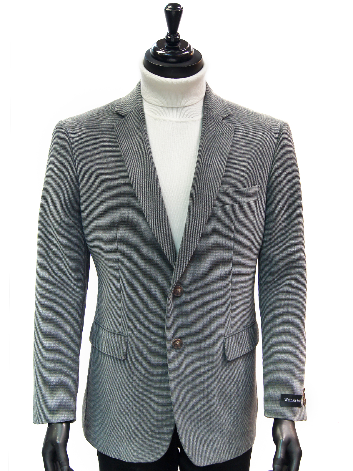 Chenille Texture Wrinkle Afazzy Resistant Grey  2 Mens