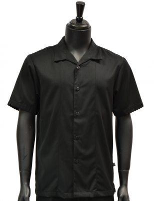 Stacy Adams Solid Black 2 Piece Short Sleeve Walking Suit