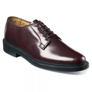 Florsheim Men's Cove Oxford (Wine Calf) (3E)