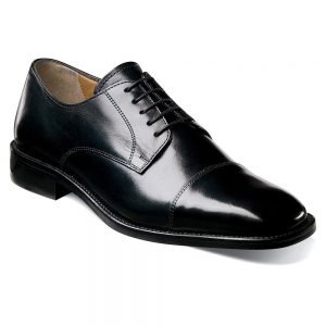 Florsheim Men's Lawrence Oxfords Shoes (Black) (D)